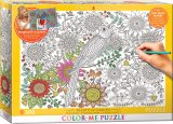 Color-Me Puzzle - Beautiful Garden