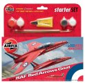 Starter Set - 1/72 Red Arrows Gnat
