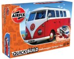 Quick Build - Volkswagen Camper Van New Toll - Red