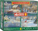 4x500 mcx Holiday Deluxe Puzzle Set
