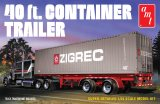 AMT - 40 ft. Container Trailer 1/24