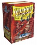 Dragon Shield Sleeves - 100 - Red