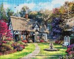 Crystal Art Kit - Country Cottage