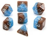 Halfsies Dice Earth Elemental 7 Dice Set