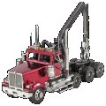 Metal Earth - Western Star 4900SF Log Truck