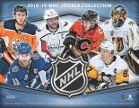 2018-19 Panini Hockey Stickers - Paquets