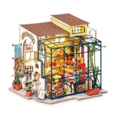 DIY House - Emily's Flower Shop (miniature à construire)