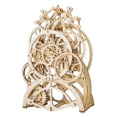 Wooden Mechanical Gears - Pendulum Clock
