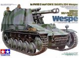 Tamiya - German Self Propelled Howitzer Wespe 1/35