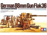 Tamiya - German 88mm Gun Flak 36 North African Campaign 1/35