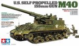Tamiya - 1/35 U.S. Self-propelled 155mm Gun M40 1/35