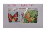 Papillons 100 Diff.