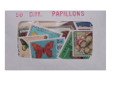 Papillons 50 Diff.