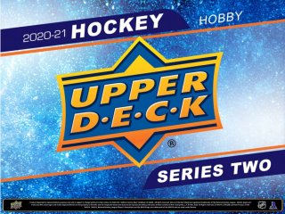 2020/21 Upper Deck Series 2 Hockey Hobby - Paquets