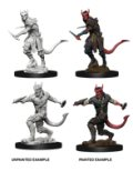 D&D Unpainted Minis: Tiefling Male Rogue