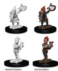 Pathfinder PF Deep Cuts Unpainted Minis: Gnome Male Bard