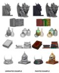 Deep Cuts Unpainted Minis: Wizards Room