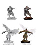 D&D Unpainted Minis: Male Aasimar Fighter