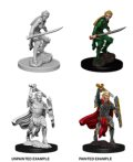 D&D Unpainted Minis: Female Elf Fighter