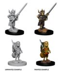 D&D Unpainted Minis: Male Halfling Fighter
