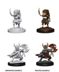 D&D Unpainted Minis: Female Halfling Fighter