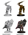 D&D Unpainted Minis: Death Knight and Helmed Horror