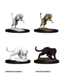 D&D Unpainted Minis: Panther and Leopard