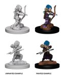 Pathfinder PF Deep Cuts Unpainted Minis: Female Gnome Rogue