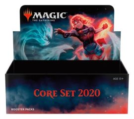 2019 Magic The Gathering Core 2020 Booster - Boite