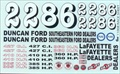 Race Decal Sheet