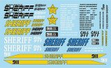 Sherrif Decal Sheet
