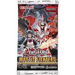 2019 Yu-Gi-Oh! Mystic Fighters Booster - Paquets