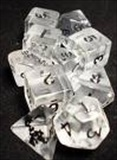 Dice Tube- 10 Transparent - Clear