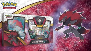 2017 Pokémon Shining Legends Zoroark GX Box