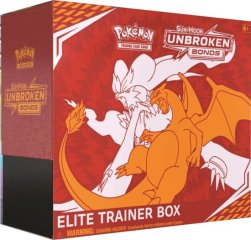 2019 Pokémon Sm10 Unbroken Bonds Elite Trainer Box
