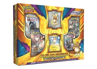 2018 Pokémon Alolan Raichu Figure Collection