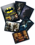 2017 Panini The World of Batman Stickers Collection - Paquets de 7 Autocollants