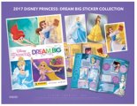 2017 Panini Disney Princess: Dream Big Stickers/Autocollants - Boite de 50
