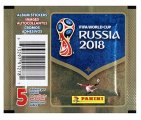 2018 Panini World Cup Soccer Stickers  - Paquets d'autocollants