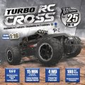 Téléguidé Turbo RC Cross 4WD 1:16