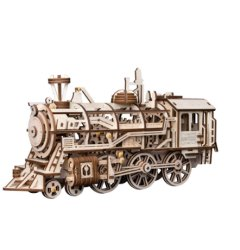 Wooden Mechanical Gear - Locomotive