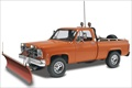 Gmc Pick Up With Snow Plow 1/24