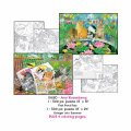 2X500 + 4 Coloring Pages - Swingin Into Summer / Fish Pounds Pals
