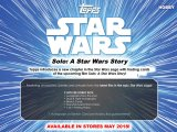 2018 Topps Star Wars Solo: A Star Wars Story! - Boite Hobby
