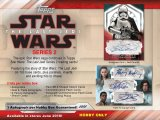 2018 Topps Star Wars The Last Jedi Episode 8 - Series 2 - Boite Hobby