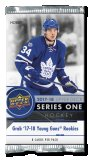 2017-18 Upper Deck Series 1 Hockey - Hobby - Paquets