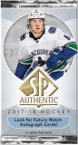 2017/18 UD Sp Authentic Hockey - Paquets
