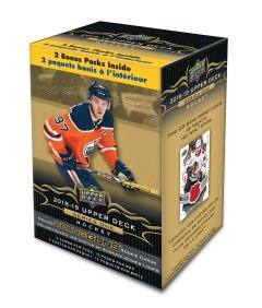 2018-19 Upper Deck Series 1 Hockey - Blaster
