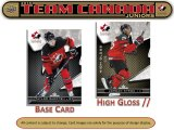 2018/19 UD Team Canada Juniors Hockey Hobby - Paquets