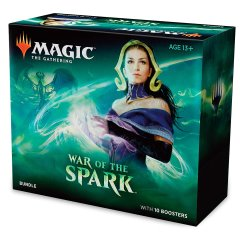 2019 Magic The Gathering War Of The Spark - Bundle